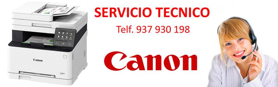 servicio técnico canon barcelona